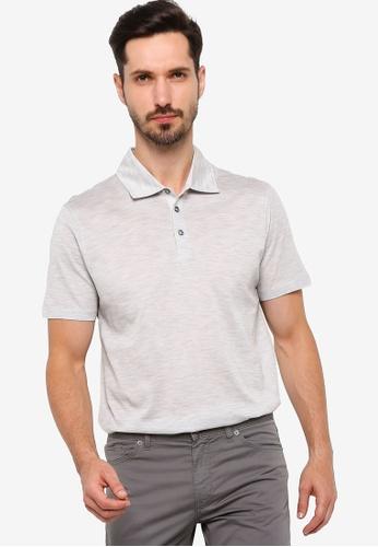 BOSS silver Casual Polo Shirt C35B2AA05E3B9EGS_1