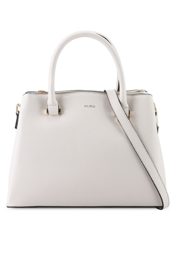 ALDO white Pinka Top-Handle Bag 1EFD2AC0D3A7D1GS_1