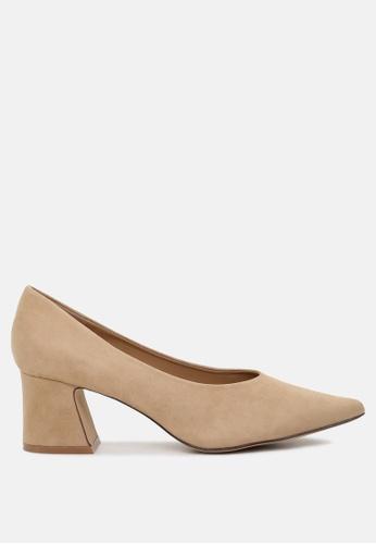 Buy London Rag Block heel pumps Online on ZALORA Singapore 39c4633fc7