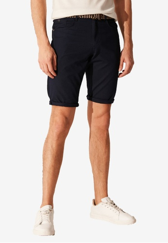 LC Waikiki 海軍藍色 Slim Fit Bermuda Shorts 989E7AA17B2BACGS_1