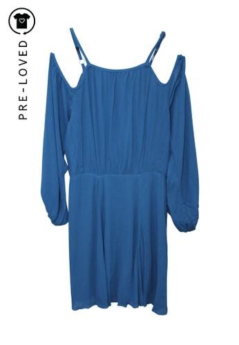 Reformation blue Pre-Loved reformation Indigo Blue Mini Dress 89202AA2B82E01GS_1