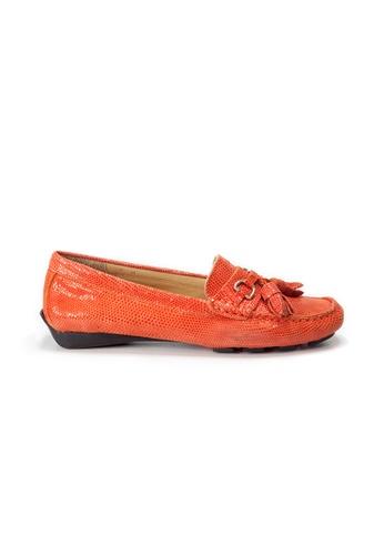 Shu Talk orange AMAZTEP Causal Tassel Loafers 3848BSH64B0E59GS_1