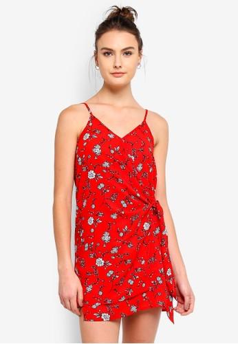 Cotton On white Woven Margot Wrap Slip Dress 4B708AACBA11E7GS_1