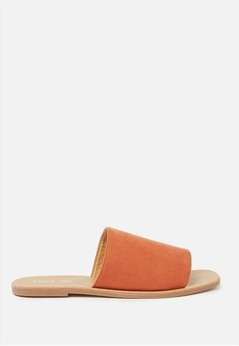 Rubi orange Cleo Minimal Slide 8F02DSHB9E4DA6GS_1