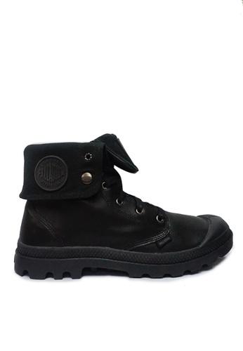 Palladium Boots black Baggy Leather Men's Boots 32E24SH8ED0A7BGS_1