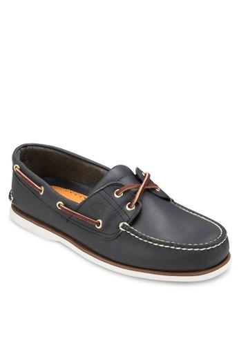 雙眼繫帶經典京站 esprit船型鞋, 鞋, 鞋