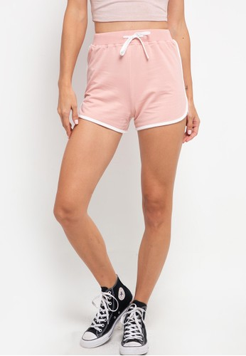 Tolliver pink Waist Ringer Shorts 3173DAABA3D774GS_1