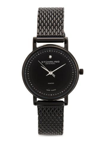 Stuesprit holdingshrling Original 734LM.03 Ascot Casatorra Elite 晶鑽網眼女錶, 錶類, 飾品配件