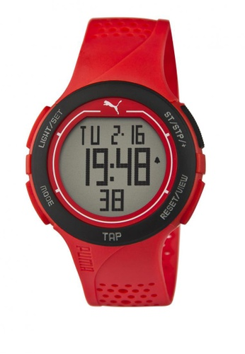 Puma red Puma Touch Red Digital Touch-Screen Watch PU440AC15CUMSG_1