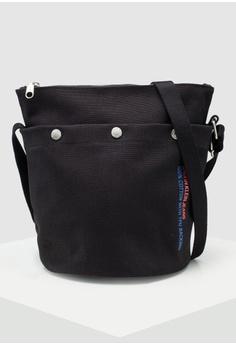 8a356bbff2b Calvin Klein black Bucket Zip Pouch - Calvin Klein Accessories  CCCA3ACBBC59B5GS_1