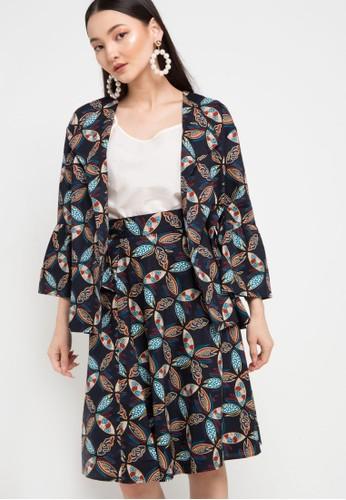Batik Solo multi Cardigan Cotton Print AED9FAAC6B5433GS_1