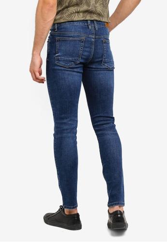 f942ae5c757 Buy MANGO Man Skinny Dark Wash Jude Jeans Online on ZALORA Singapore