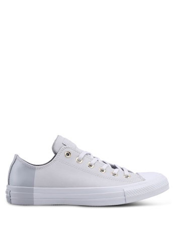Converse grey Chuck Taylor Ox Sneakers 0ADCDSH30848FFGS_1