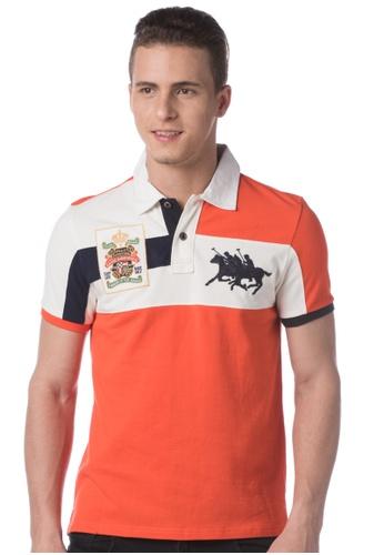 POLO HAUS orange Polo Haus - Polo Tee  (Orange) PO783AA08LLZMY_1