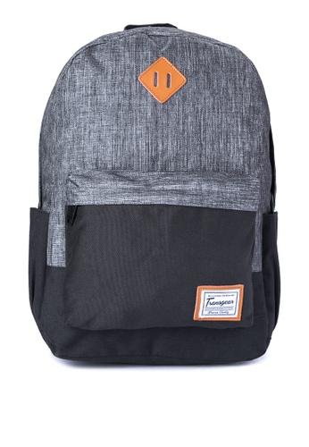 Transgear grey Backpack 243-TGBP TR281AC0IQNUPH_1