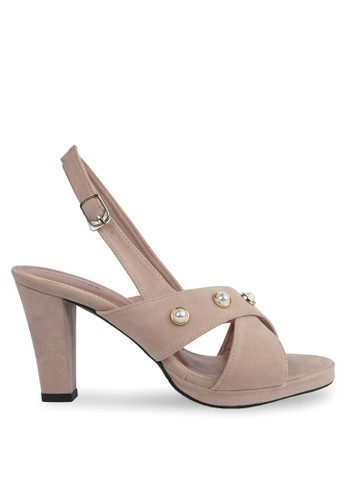 CLAYMORE beige CLAYMORE Heels HA - 014 Cream 29028SH0B4B5A3GS_1