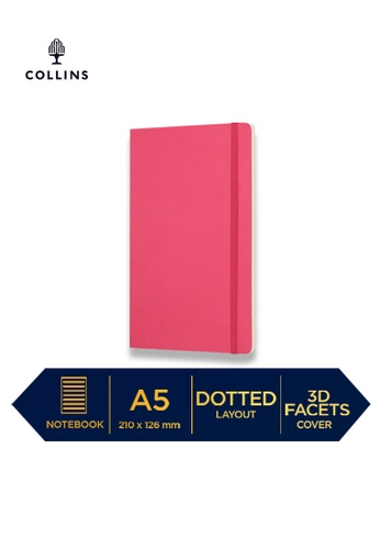 Collins pink Collins Clementine - Notebook A5 Slim Dotted - Pink 85F2FHL21AAAE7GS_1