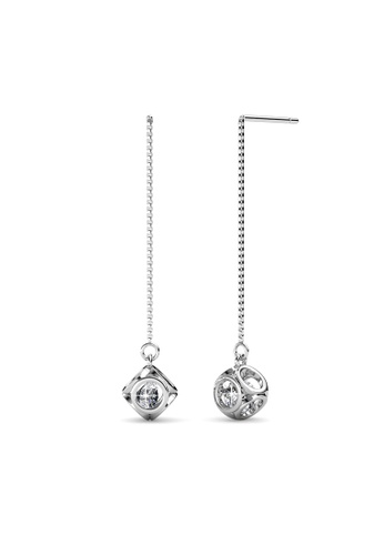 Her Jewellery Penelope Earrings -  Made with premium grade crystals from Austria HE210AC29IPISG_1