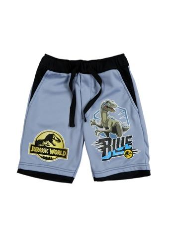 Jurassic World black and grey Jurassic World Bermuda Pants C01E1KA13B196BGS_1