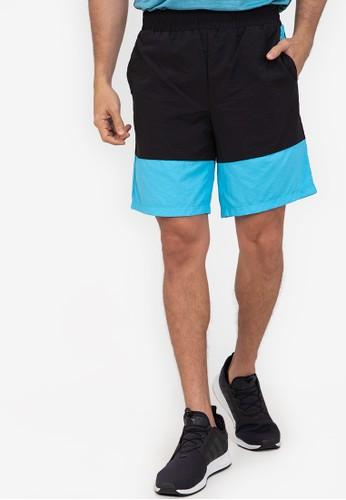 ZALORA ACTIVE multi Graphic Colour Block Gym Shorts 67E0DAABBE7209GS_1
