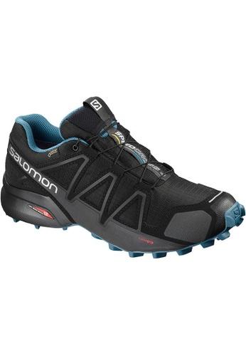 Salomon black Salomon Speedcross 4 GTX Nocturne 2 Bk/Bk 8BD78SH94BA2C2GS_1