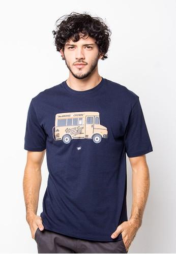 Endorse Tshirt B Bus Navy Blue END-PD004