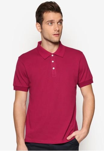 基本款素色POLO esprit分店地址衫, 服飾, Polo衫
