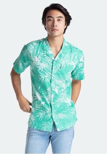 Levi's green Levi's Cubano Shirt Men 72625-0019 9EA26AAA972AC3GS_1