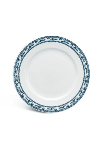 Minh Long I white Annam Bird: Porcelain Flat Round Plate (25cm) BD8EBHL94843BEGS_1