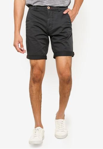 BLEND black Basic Slim Fit Shorts E81DDAA43159A8GS_1