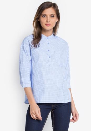 Maldita blue Irana Checkered Shirt MA786AA0JXXEPH_1