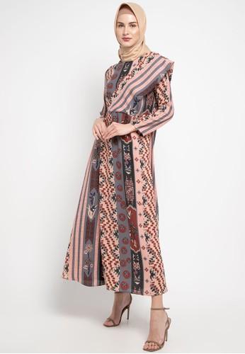 Kami for ZALORA multi Yubi Dress 1B2F0AAEC92757GS_1