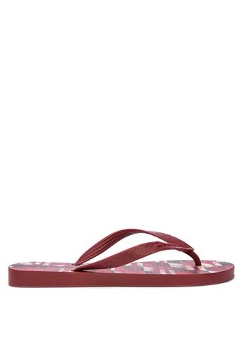 Ipanema red Clas Urbana Masc Flip Flops 1F14BSHCC6DAE0GS_1