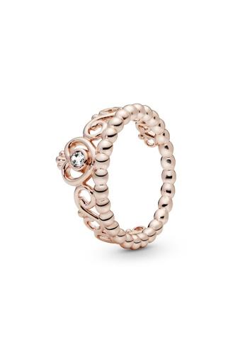 PANDORA gold Pandora Rose Princess Tiara Crown Ring 5DFEBAC2C8E5B0GS_1