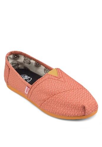 Pesprit分店地址alacio 印花懶人鞋, 女鞋, 鞋