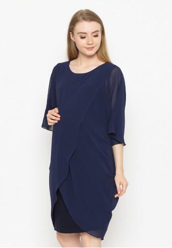 Chantilly navy Maternity/Nursing Dress  53027 CH841AA0VCPQID_1