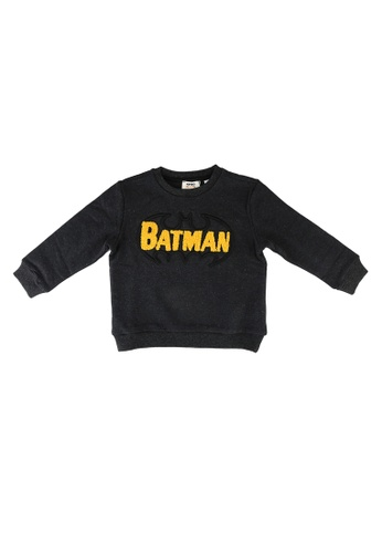 KOTON grey Batman Sweatshirt B5552KA30A7A87GS_1