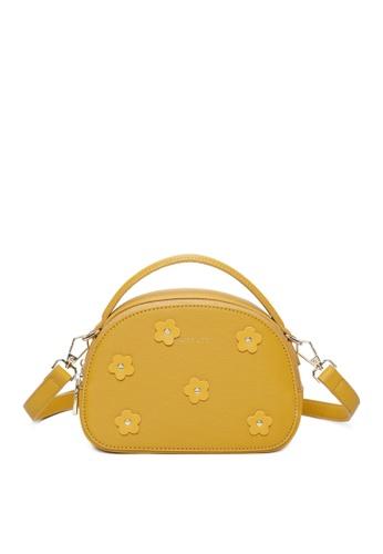 Milliot & Co. orange Taylor Sling Bag ABE86AC446C14DGS_1