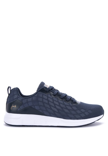 Jump navy Jersey Sneakers 2A860SH8DB2FB4GS_1