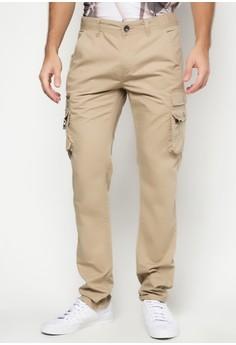 Chintz Twill Cargo Pants