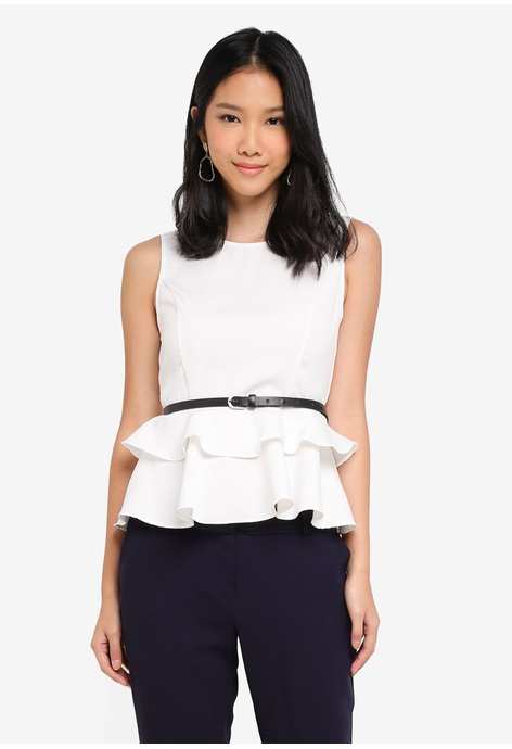 Sleeveless Top - Put A BowOnIT by TraciK by VIDA VIDA Discount Pay With Visa Cheap Free Shipping Cheap Sale Websites Big Sale Sale Online Safe Payment 5nJiaRH