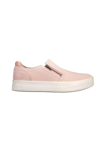 Timberland pink Mayliss Slip-On TI324SH2UVOYHK_1