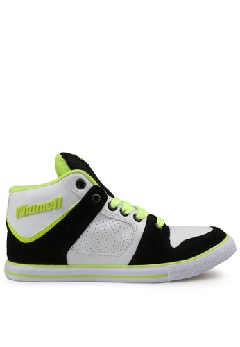 Rhumell white and multi Pump Up Sneaker RH743SH50DARID_1