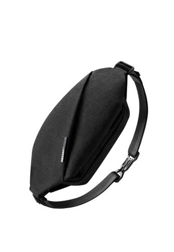 NIID black Multiple Function ‧ Hidden 2way storage R0 Chest bag - Meteorite Black DBDE3AC1E8D322GS_1