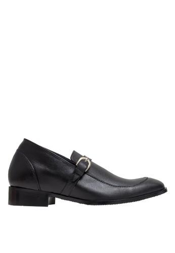 Keeve black Keeve Shoes Peninggi Badan Formal 126- Hitam 15C0CSHB933D61GS_1