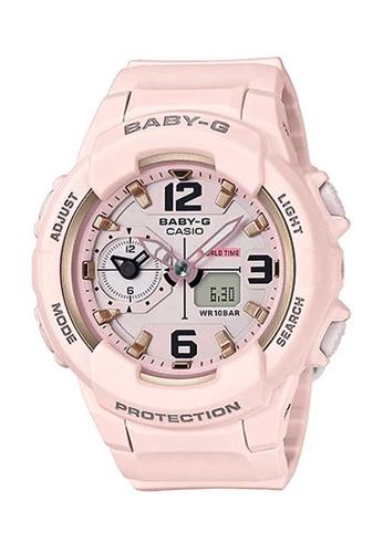 CASIO pink Casio Baby-G Pastel Pink Resin Watch 5CA66ACDABA4F8GS_1