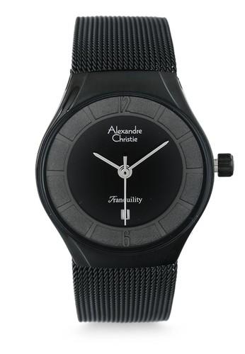 Alexandre Christie black Alexandre Christie Jam Tangan Wanita - Black - Tali Pasir - 8331 LDBIPBA AL709AC42RTDID_1