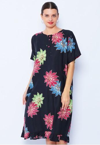 Rianty Batik black Daster Florina Blk 50959AA92A1472GS_1