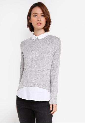 OVS grey Long Sleeve Sweatshirt B4AE6AAA829997GS_1