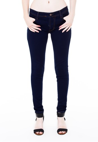 Nuber navy Dahlia Ladies Fit Navy Thread Gold - stretch 77AD1AA0E119C0GS_1